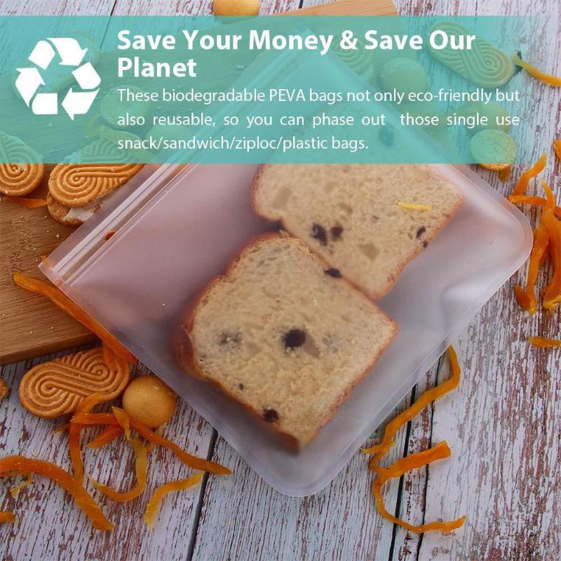 10Pcs-PEVA-Silicone-Food-Storage-Bag-Reusable-Freezer-Bag-Ziplock-Leakproof-Top-Fruits-Lunch-Box (2)