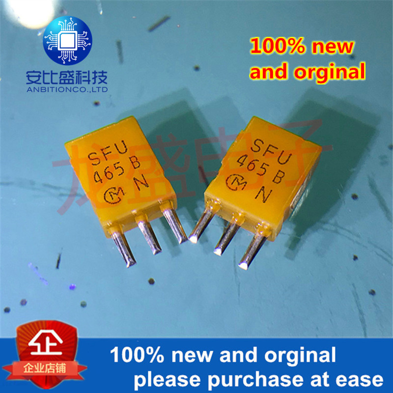 50pcs 100% New And Orginal Ceramic Filter SFU465B 465KHZ 465K Direct Interpolation 455B In Stock