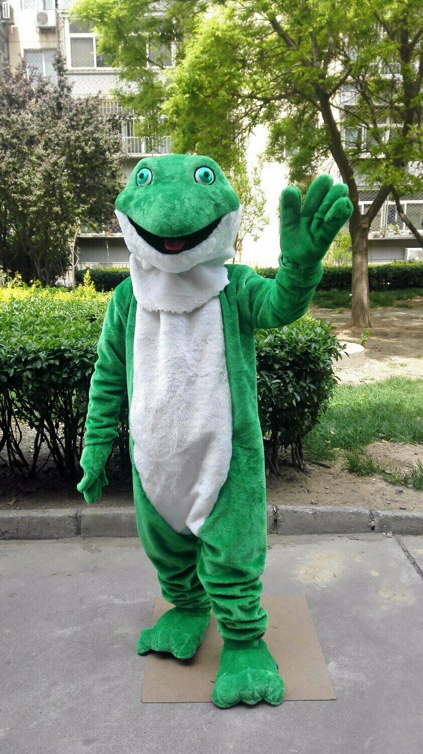 Details about  /Stork Mascot Costume Cosplay Party Fancy Dress Outfit Advertising Halloween Adul