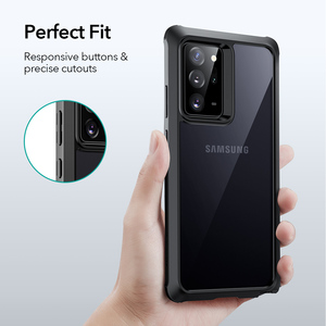 Image 5 - ESR Phone Case for Samsung Galaxy Note 20 Ultra 5G Full Protection Cover Hard Frame+Clear Back Case with Bumper Bundle Case