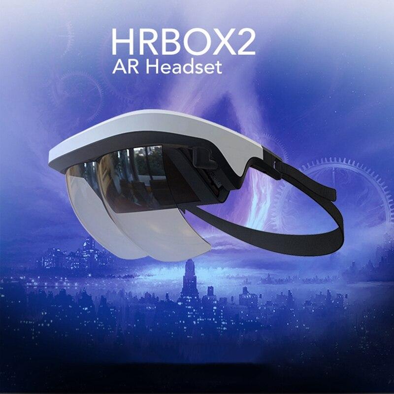 Auriculares de ar, vidros espertos do auricular vr da realidade aumentada video dos vidros de ar 3d para iphone & vídeos e jogos de android 3d