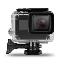 цена на 60M/197ft Waterproof Housing Case Back Door For Gopro Hero 7/6/5/(2019) For Go Pro Black Action Camera Accessories