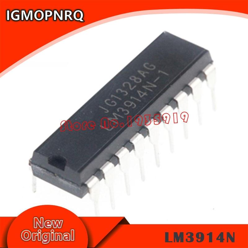 5PCS LM3914 DIP18 DIP LM3914N-1 DIP-18 LM3914N Free Shipping