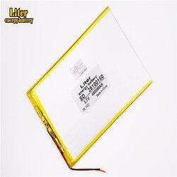 Dobra jakość 3.7V 4600mAH 25100150 polimerowy akumulator litowo-jonowy/litowo-jonowy do tabletu pc BANK GPS mp3 mp4