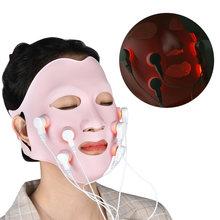 Косметический красный светильник для лица терапия светодиодный