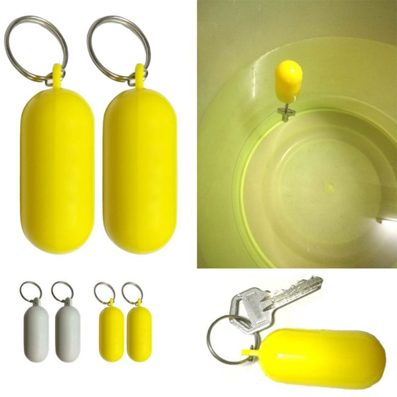 Floating Keyring Fender Buoyant Key Ring Marine Sailing Boat Float Canal Keychain Beach Water Sports Accessories
