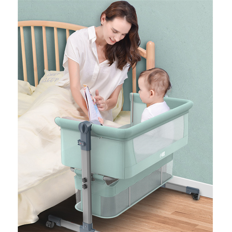 Baby Bed Portable Foldable Cradle Bed With Mattress Mosquito Net Multifunctional Baby Cribs Bedside Bassinets Cribs For Infants