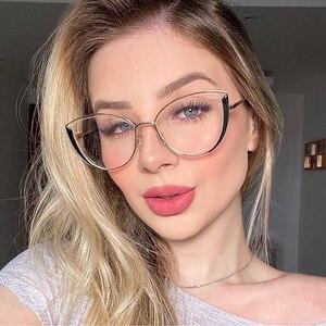 YINSQER Clear Cat Eye Glasses