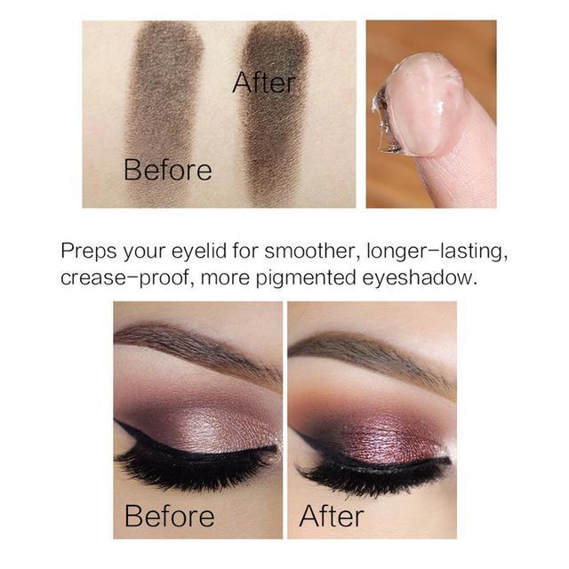 SACE LADY Eyeshadow Primer Makeup Eye Base Cream Liquid Eye Shadow Primer Make Up Oil Control Brighten Long Lasting Cosmetic 2