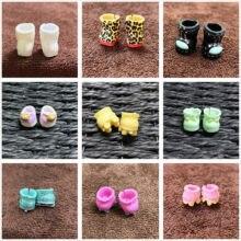 Escolha original lol surpresa mini botas sapatos para lol 8cm grande irmã bonecas unicórnio punk menino diy boneca acessório crianças presente brinquedo 2cm
