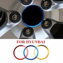 4x стайлинга автомобилей кольцо для центрального движения колеса