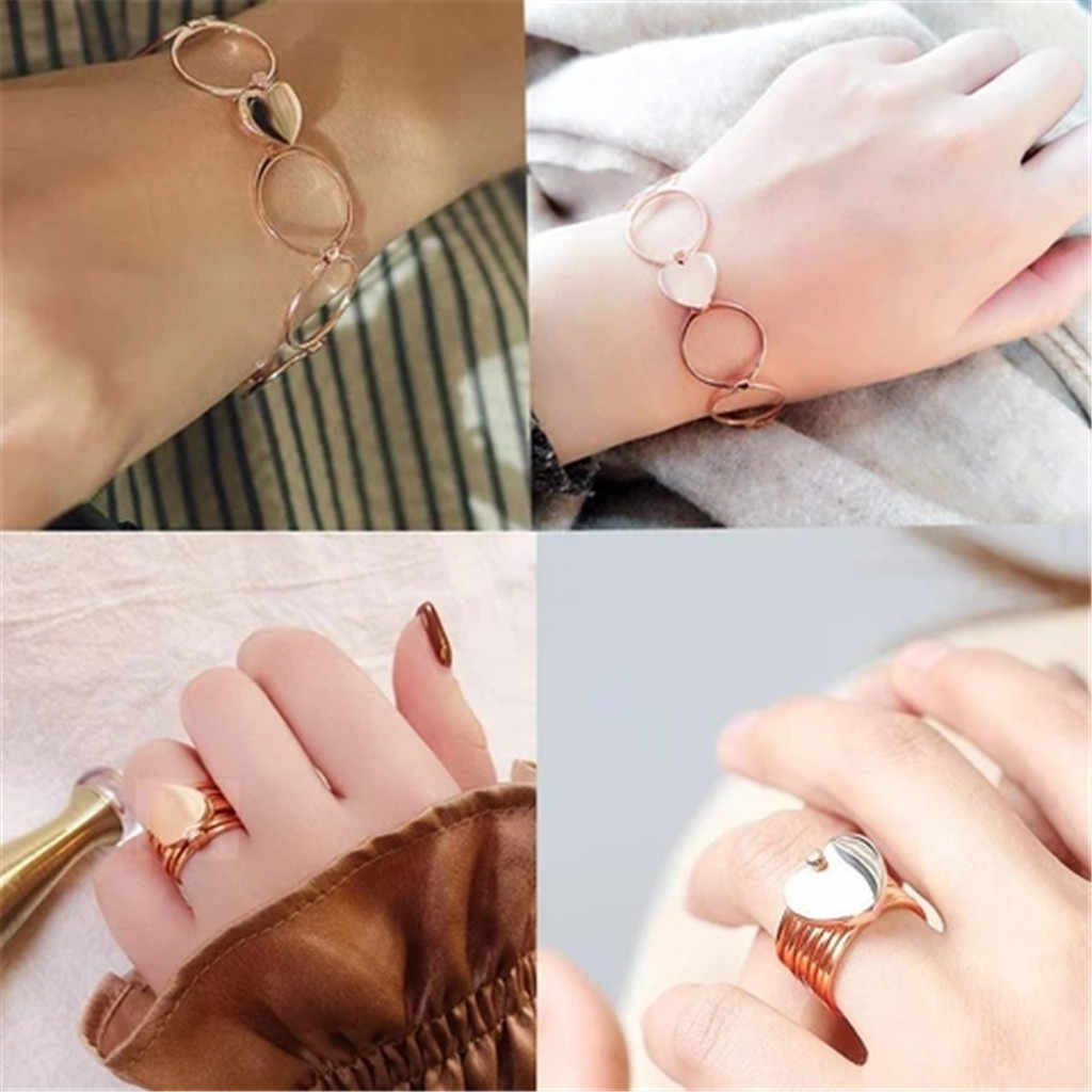 Retractable Cincin CINTA Jantung Ajaib Variabel Wanita Perhiasan Кольца Бижутерия Perak Sterling 925