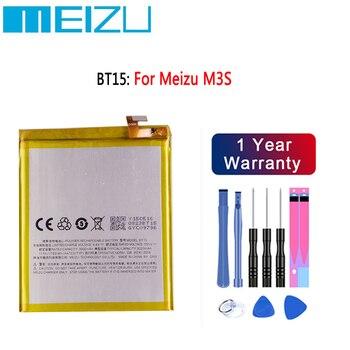 100% Original High Quality 3020mAh BT15 Battery For MEIZU M3S Battery 4000mAh BT61 For Meizu L Version M3 Note L681H Battery meizu high quality battery 100