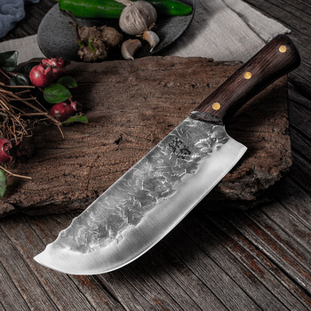 CHUN Slaughter Knife Cutting Meat Multi-purpose Knives Hand Forging Kitchen Chef Tools Cooking Slicing Chopper Chinese Cleaver