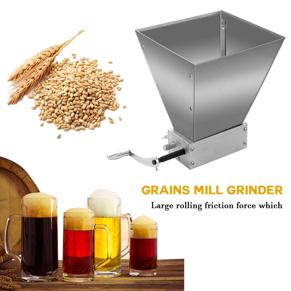 Whole Grains Mill Grinder Food Processors Superfine Large Manual Powder Machine Stainless Steel Malt Corn Food Grinder