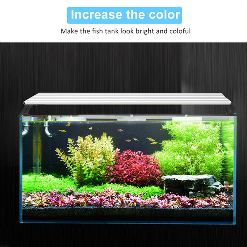 Image 4 - Aquarium Light LED Lighting 20 65CM Fish Tank Lamp Aquatic Plant Lights Fishing Led RGB Indoor Decoration With Timer and DimmingLED Grow Lights   -