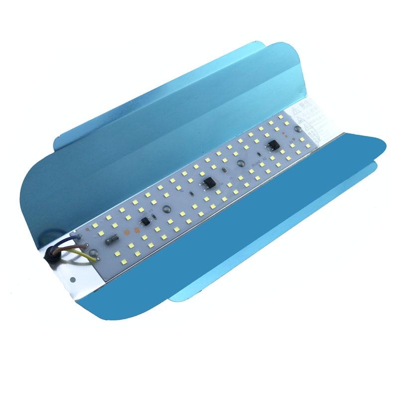 50W LED Floodlight AC 220V LED Spotlight LED Iodine Tungsten Light Flood Light Outdoor Lighting Construction Site Lighting