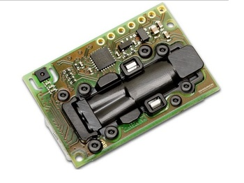 Two-channel Three-in-one Carbon Dioxide Sensor + Temperature and Humidity SCD30, UART Output