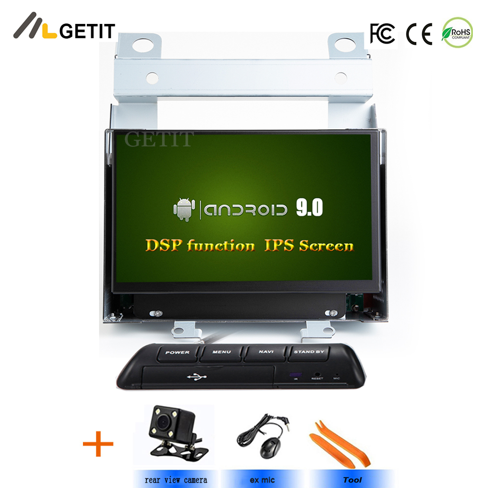 DSP Chip IPS Car Multimedia Player 2 Din Android 9 For Land Rover Freelander 2 2007