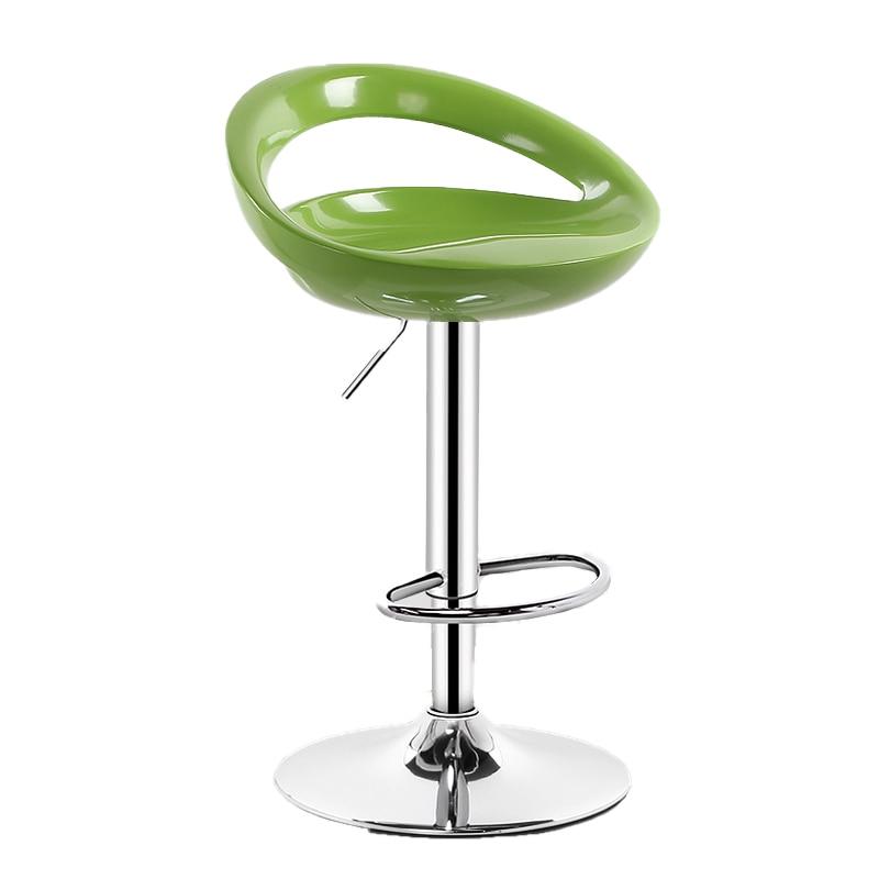 Bar Chair Modern Simple Household Bar Chair Simple Backrest Bar Stool High Stool Lift Front Desk Chair Bar Chair