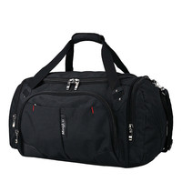 Travel Luggage Bag Sports Gym Bag with Shoes Compartment Duffel Bags for Men Women Folding Backpacks 40L Capacity