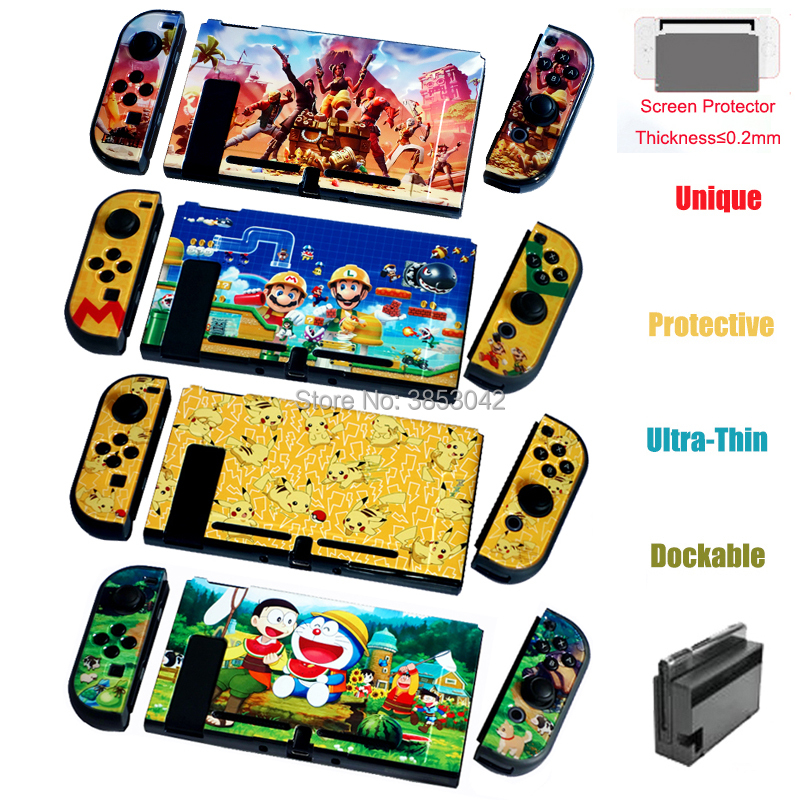 20 Sets Plastic Protective Housing Shell hard Case Cover For Nintend Switch Game Console Protector