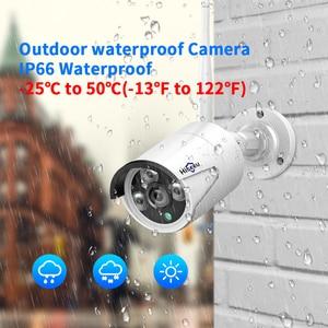 Image 5 - Hiseeu 8CH اللاسلكية طقم NVR P2P 1536P الصوت أمن الوطن مقاوم للماء شارع IP كاميرا CCTV واي فاي نظام مراقبة بالفيديو عدة