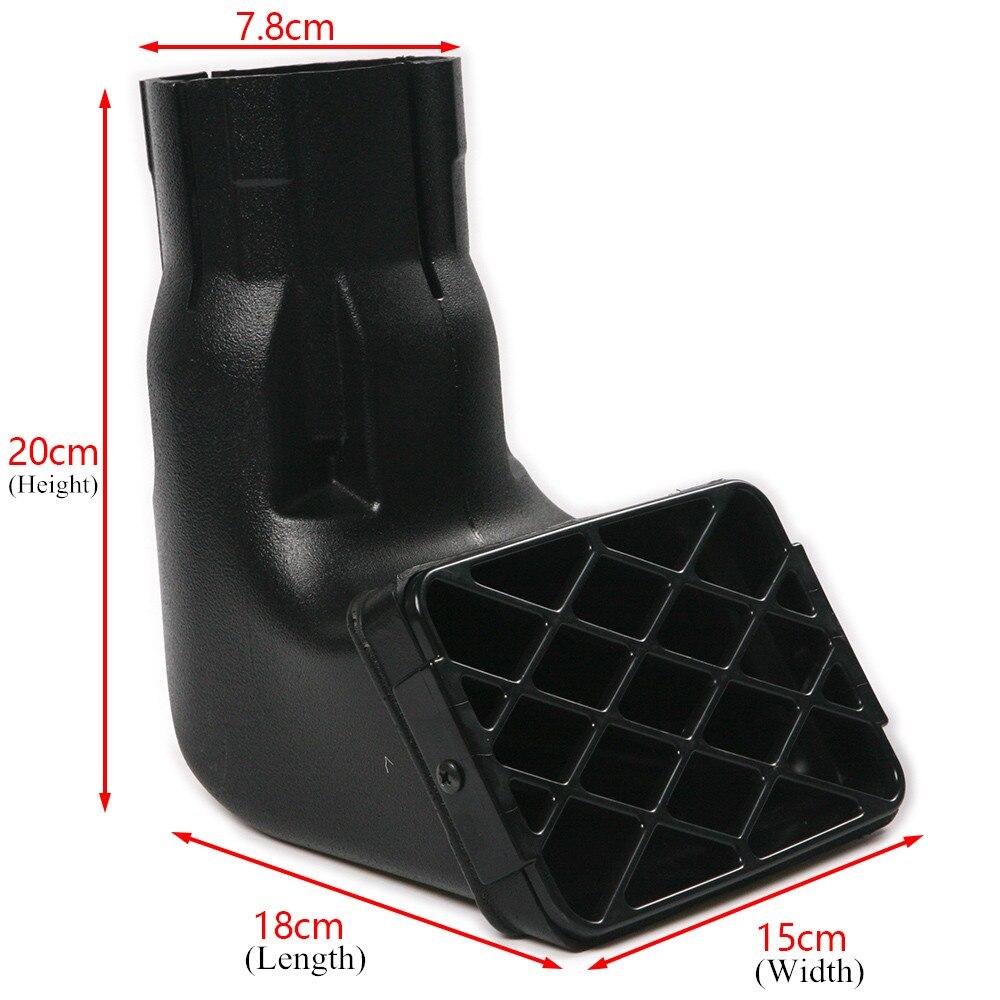 3inch Universal Fit Off Road Replacement Mudding Snorkel Head Ram Air Intake Car Repair & Maintenance Waterproof 18*15*20cm