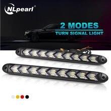 Nlpearl 2x автомобиль светильник сборки Светодиодные ленты дневные