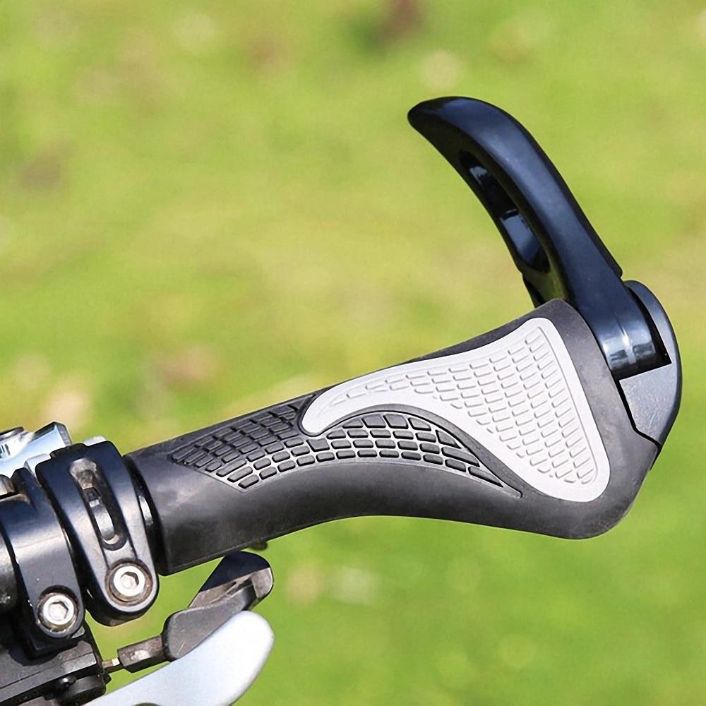 2X Bike Mountain MTB Bicycle Handlebar Grips Cycling Handle Grips Lock on NEW
