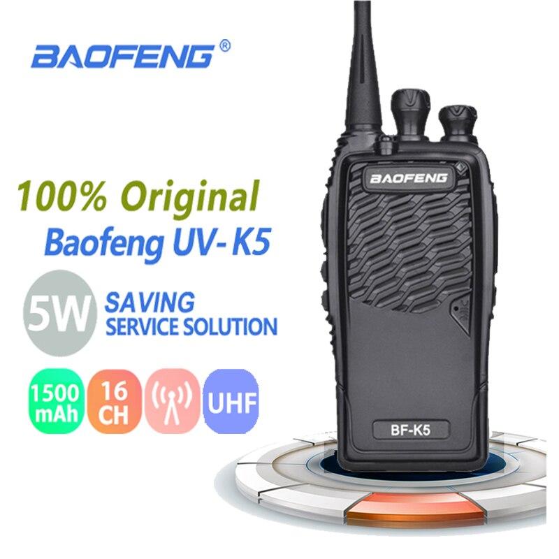 """100% Оригинальный Baofeng иди и болтай Walkie Talkie """"иди и BF-K5 радиолюбителей радио Comunicador радиолюбителей Baofeng Uv-82 Dmr радио антенна Vhf радио Cb радио"""