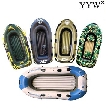 2-4 People Outdoor Water Inflatable Boat PVC Inflatable Canoeing Boat Dinghy Kayaking Fishing Rowing Boat for Drifting Surfing best selling ce certificate pvc material inflatable boat for sale
