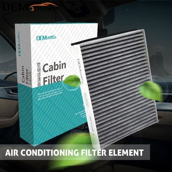 Car Pollen Cabin Air Conditioning Filter For Ford C-Max Escape Kuga Focus Transit Connect Lincoln MKC Volvo V40 Activated Carbon image