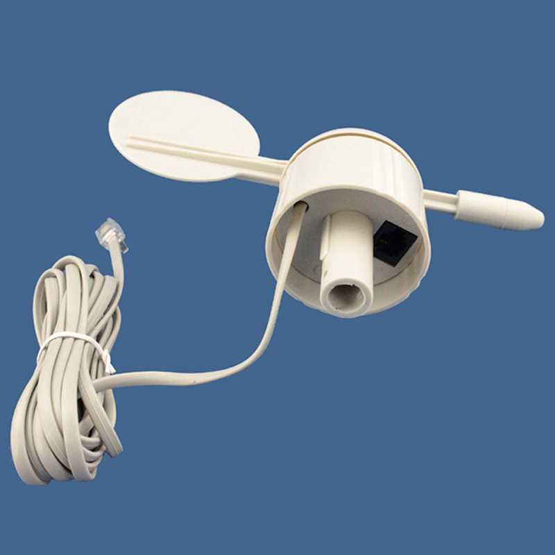 Compteur de Direction du vent compteur de Direction du vent Instrument de mesure de la vitesse du vent Instrument météorologique accessoires WH-SP-WD