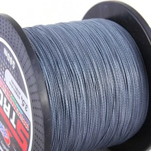 500m PE Fishing Line 4 Strands Braided 0.4#-10# 4.8-50kg Multifilament Outdoor Lure Saltwater Freshwater River