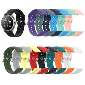 Nuevo reloj de pulsera deportivo de silicona de 22MM para Xiaomi Haylou Solar LS05, correa de reloj inteligente para Haylou, correa de repuesto para reloj Solar