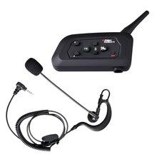 Fodsports Thương Hiệu V4 1200M 4 Người Nói Chuyện Đồng Thời Cho Trọng Tài Bóng Đá Thẩm Phán Tai Nghe Chụp Tai Bluetooth Chống Nước Liên Lạc Nội Bộ Interphone