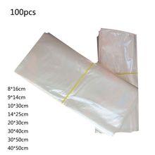 100 шт тепла термоусадочная мешки для подарков Packagaing мыла DIY проектов свечи