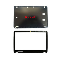 Laptop LCD Back Cover/LCD front bezel for HP Envy 6 6 1000 6 1005tx 6 1116t TPN C103 692382 001 Black A and B case 7J260