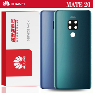Original Back Housing Replacement for Huawei Mate 20 Back Cover Battery Glass with Camera Lens adhesive Sticker