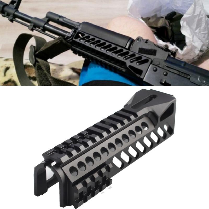 Тактическая рельсовая система Magorui AK47 AKs 74U, односторонняя направляющая Picatinny для охоты, страйкбола, аксессуары