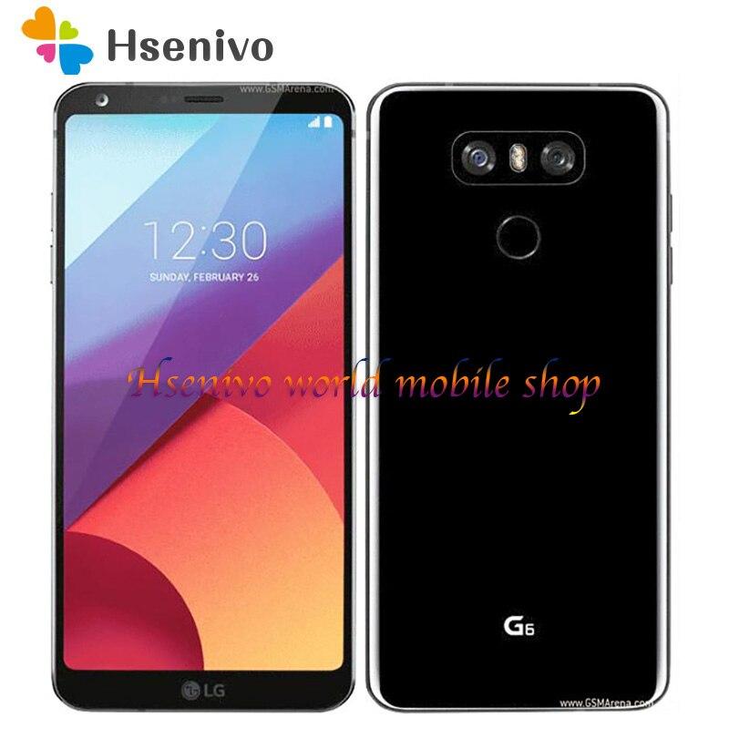 """Setzte Ursprünglichen Handy LG G6 H871/H872/H873 5,7 """"zoll 4GB RAM 32GB ROM Snapdragon 821 Dual Zurück Kamera LTE Fingerprint"""