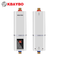 5500W Instantaneous Water Heater Tap electric Instant shower thermostat Heating Maximum of 55 degrees Celsius