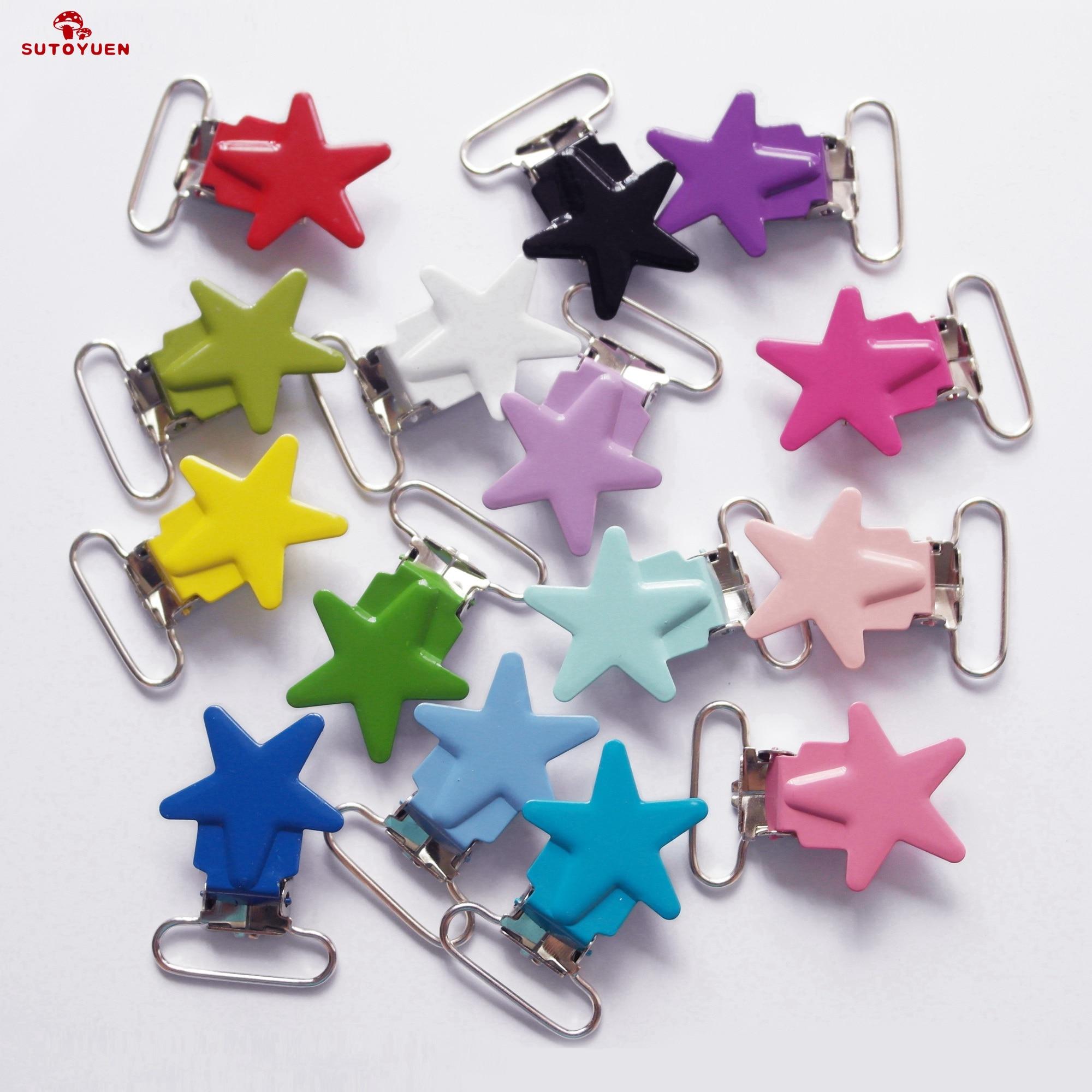 livre de chumbo 80 pces 1 25 25 25mm 16 cores esmalte estrela forma metal bebe