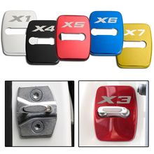 4pcs Car Accessories Stickers Styling Case For BMW 1 2 3 5 6 7 Series X1 X3 X4 X5 X6 X7 E60 E87 E90 Door Lock Covers