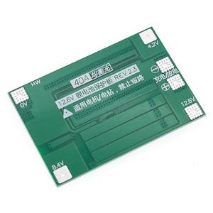 Image 5 - 10 adet 3S 40A Li ion lityum pil şarj cihazı koruma levhası PCB BMS 40A akım matkap Motor 11.1V 12.6V lipo hücre modülü