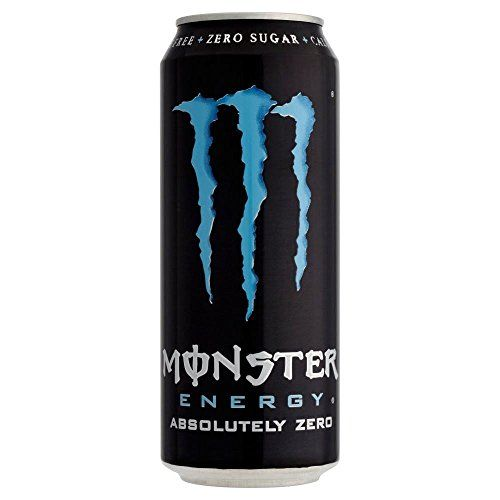 Monster Absolute Zero Drink (500ml) - Pack Of 2