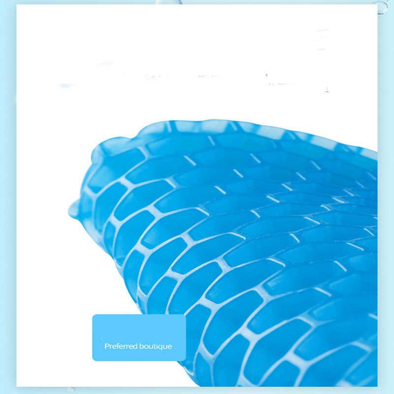 Auto Cuscino di Gel di 3D a Nido D'ape Gel Rilievo Del Ghiaccio Cuscino Del Sedile Sedia da Ufficio Soggiorno Camera da Letto Divano Sedia Cuscino 38*30 Cm * 5 Cm