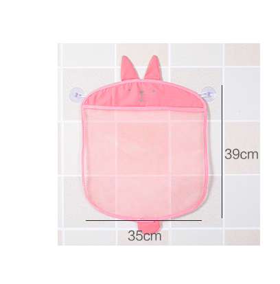 Saco de malha banheiro para o banho do bebê saco de brinquedos dos miúdos cesta para brinquedos animal dos desenhos animados molda líquido à prova d' água pano de areia brinquedos praia de armazenamento