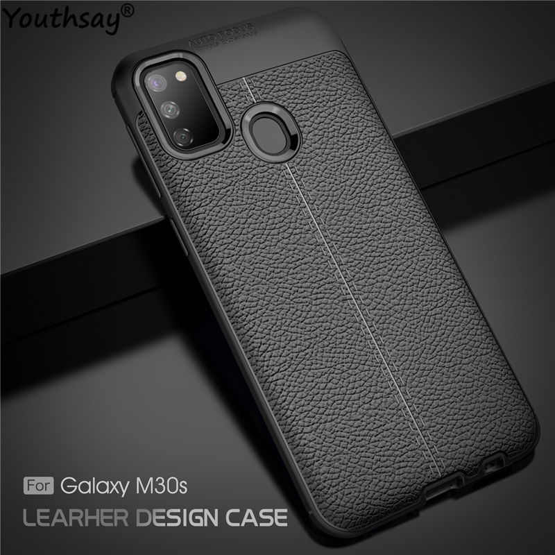 "For Samsung Galaxy M30s Case Soft Silicone Luxury Leather Case For Samsung Galaxy M30s Cover For Samsung M30s Case 6.4"" Youthsay"